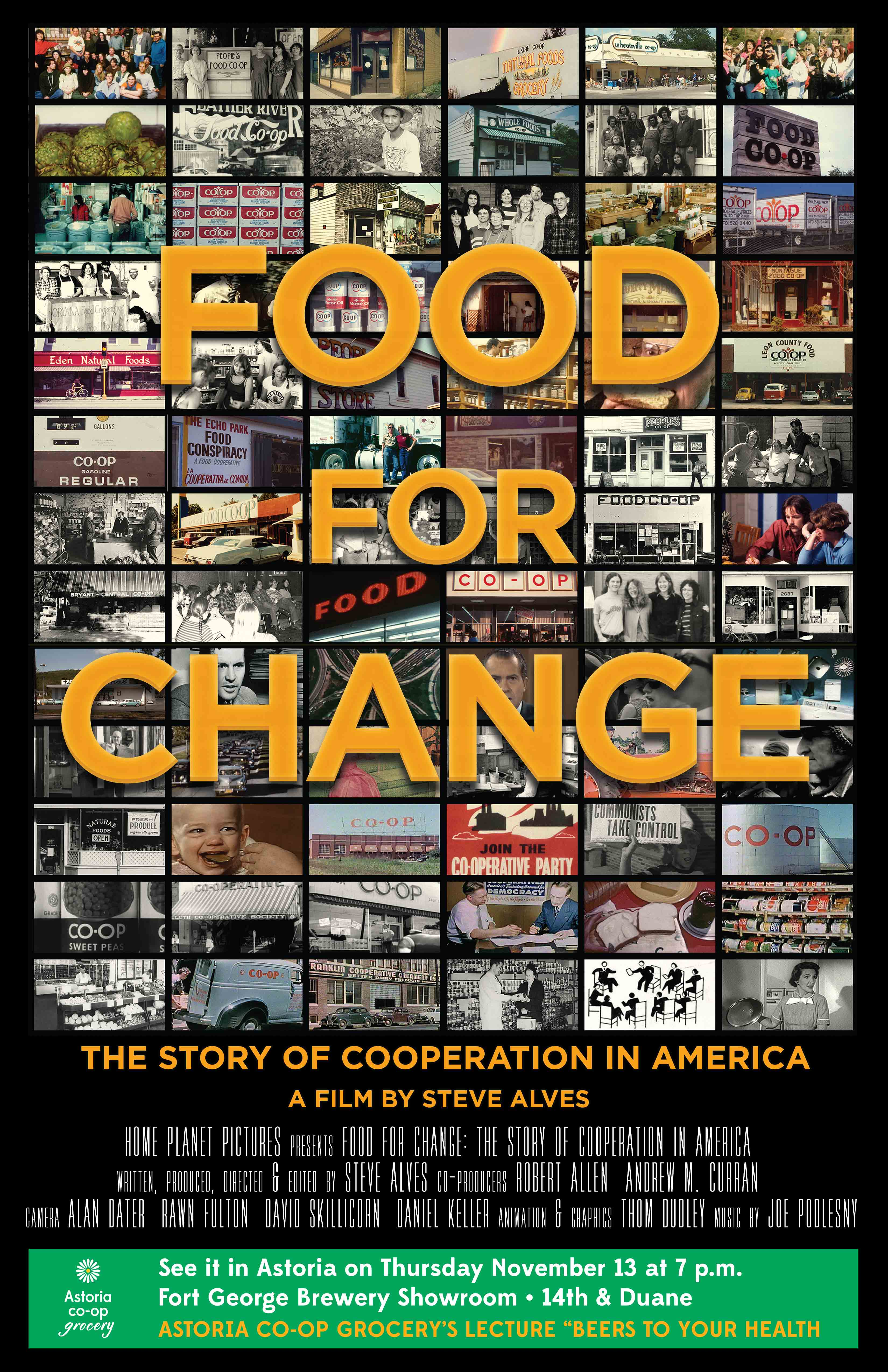 Final Food for Change Poster